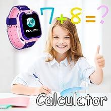 Smartwatch Boys Girls Toddler School Supplies Digital Wrist Watch Camera Gizmos Games