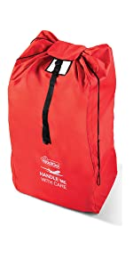 Stroller travel bag for travel gate check protect