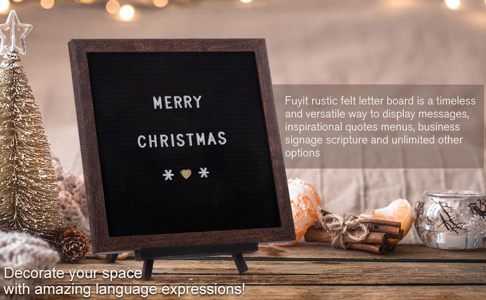 black letter board