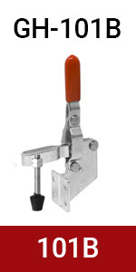 vertical toggle clamp hand tool 101B toggle clamps hand tool woodworking clamps destaco clamps