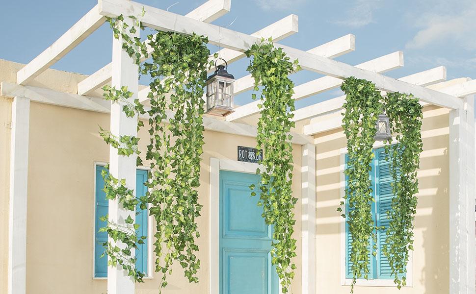 Artificial Hanging vines decor garden