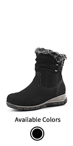 Women's Wool-Lined Cold Weather Boots Berlin