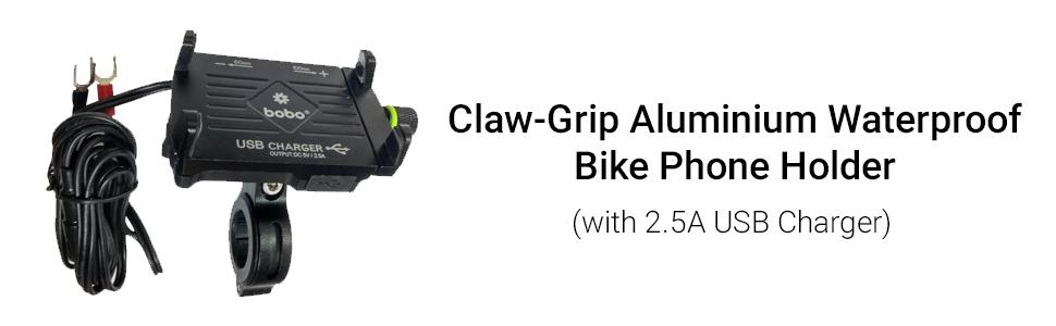 bike phone holder bike mounts bobo bobogears claw grip