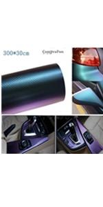 CompraFun Vinilo Fibra de Carbono, Negro Mate Película Pegatina Decoración Autoadhesiva A Prueba de Agua Libre de Burbuja 300x 30CM, para Coche Motocicleta Móvil Ordenador, con Accesorios: Amazon.es: Coche y moto