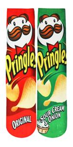 Pringle Chips Socks