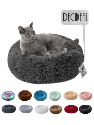 Round Soft Cat Bed