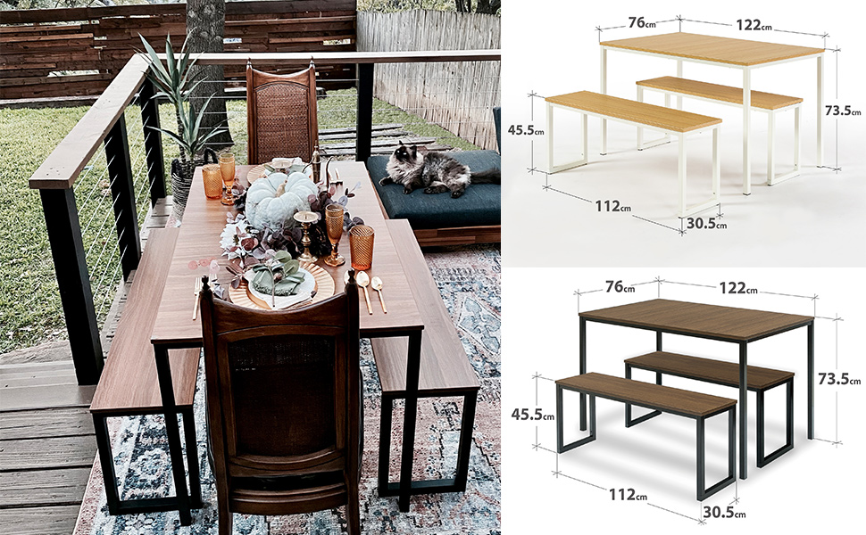 Zinus Louis Dining Table Soho Modern Collection