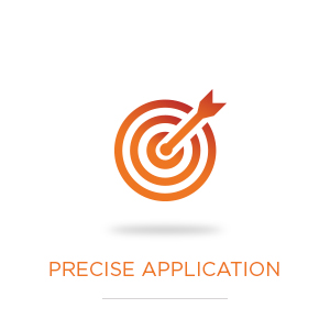 precise application