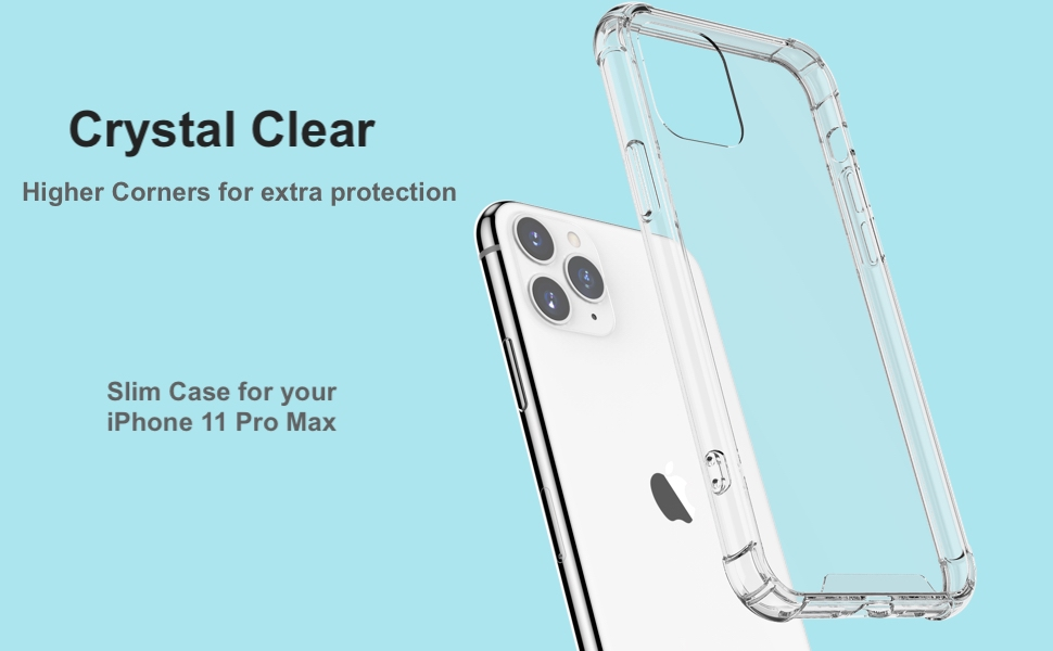 clear iPhone 11 pro max case