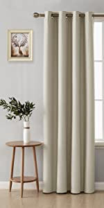 faux linen blackout curtains