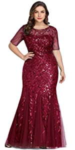 plus size formal dresses and gowns plus size prom dresses mermaid evening dress for plus size women