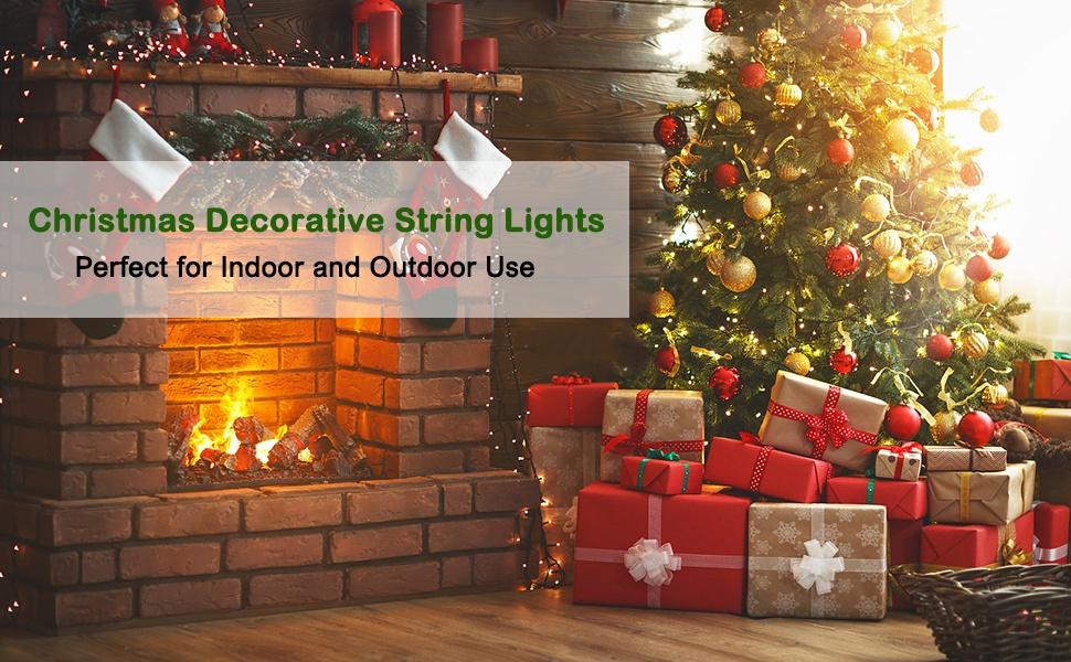 christmas decoratice string lights