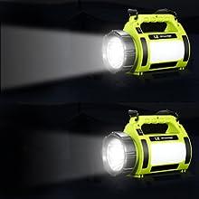 front spotlight