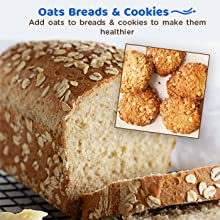 Make Breads & Cookies Healthier with Oats
