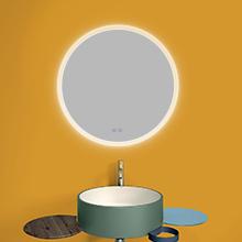 lit mirror