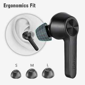 Wireless Earbuds Snug Fit