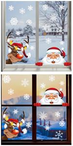 Decoración Navidad Pegatina