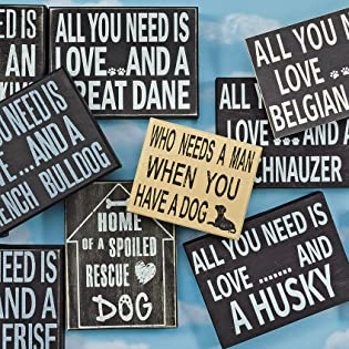 Our wood signs are sturdy solid wood which will last.