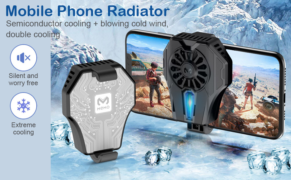 Semiconductor Refrigeration Phone Cooling Fan