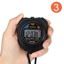 Vicloon Digital Cronómetro con Silbato de Acero Inoxidable - LCD ...