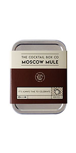 moscow mule ginger syrup copper mug