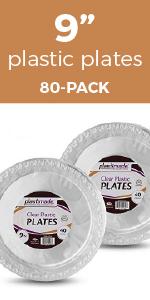 plastic plates