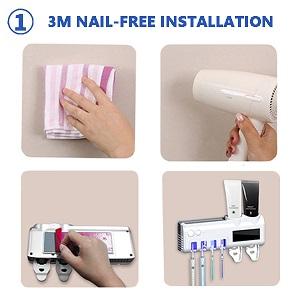 3M nail-free installation