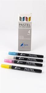 pastel dry erase markers
