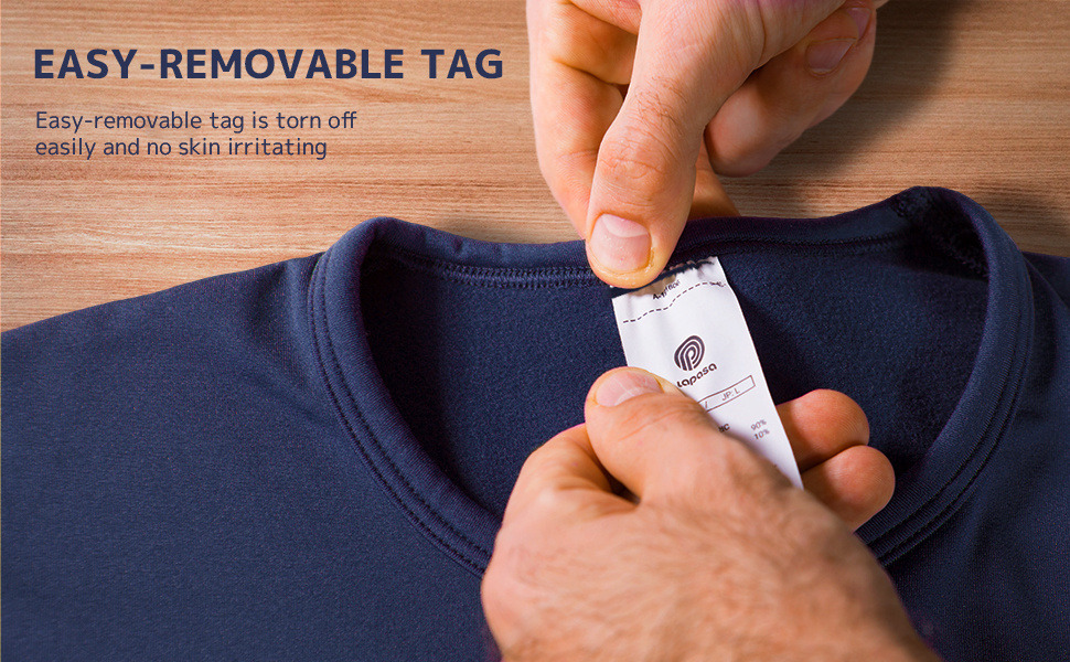 easy-removable tag