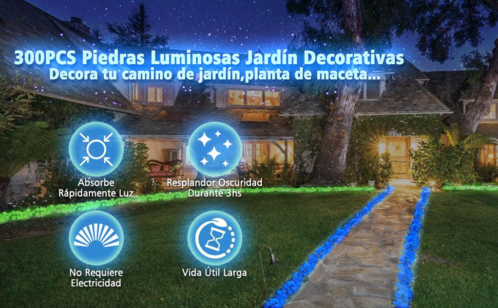 Tvird Piedras Decorativas Guijarros 300Pcs,Piedras Decorativas ...