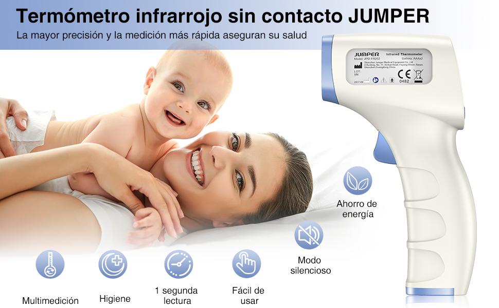 El termómetro infrarrojo JUMPER FR202