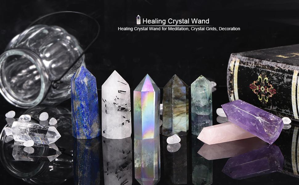 Healing Crystal Wands