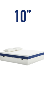 Amazon Com Queen Mattress Molblly 10 Inch Gel Memory Foam Mattress With Certipur Us Bed Mattress In A Box For Sleep Cooler Pressure Relief Queen Size