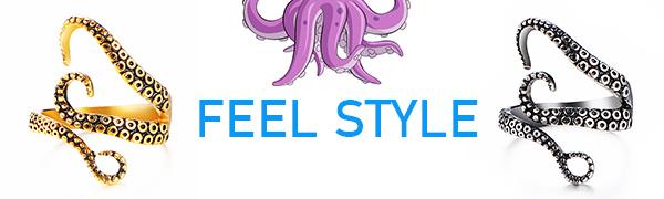 Octopus Rings