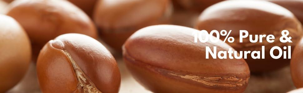 100% Pure oil, organic oil, argan oil, almond oil for skin, sleep, hair