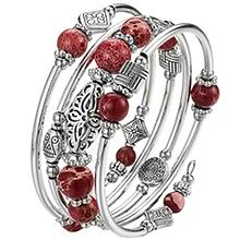 bangle flower bracelet