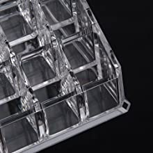 Acrylic Clear Make Up Organiser Cosmetic Storage