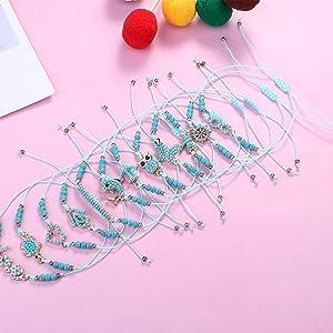 braided bracelets