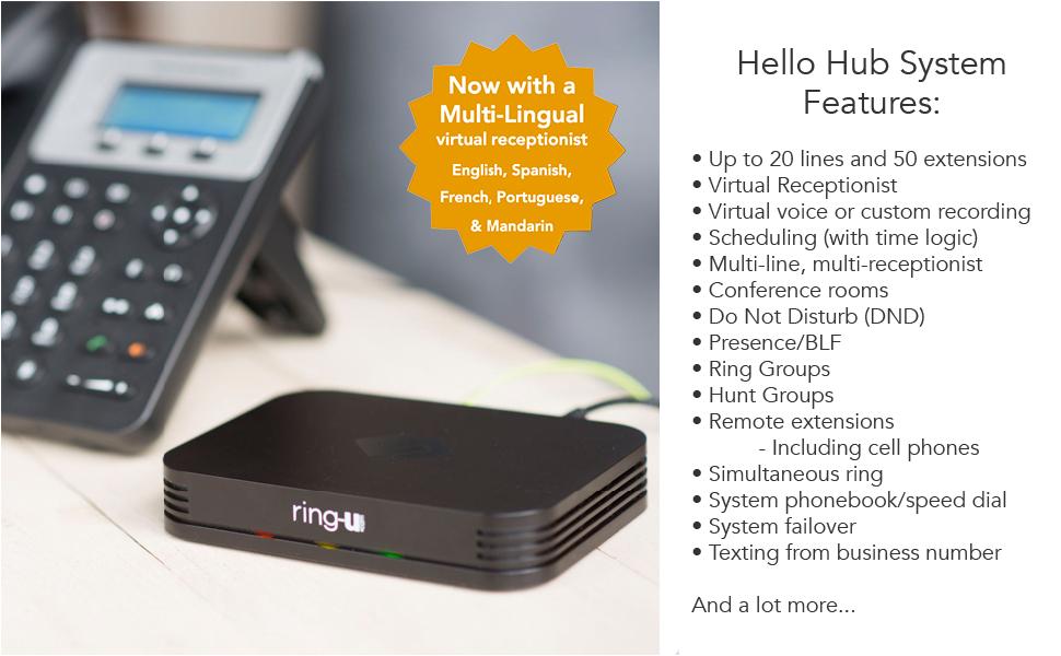 hello hub voip pbx phone system