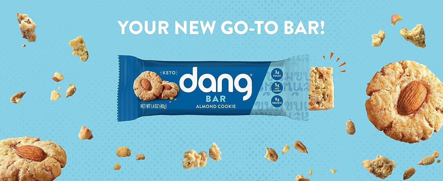 Dang Almond Cookie Dang Bar