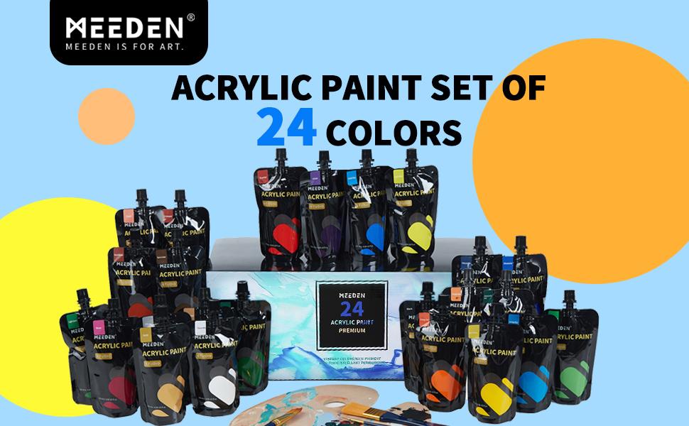 acrylic paints set paint set acrylic craft paint paint sets aryclic paints acrylics paint