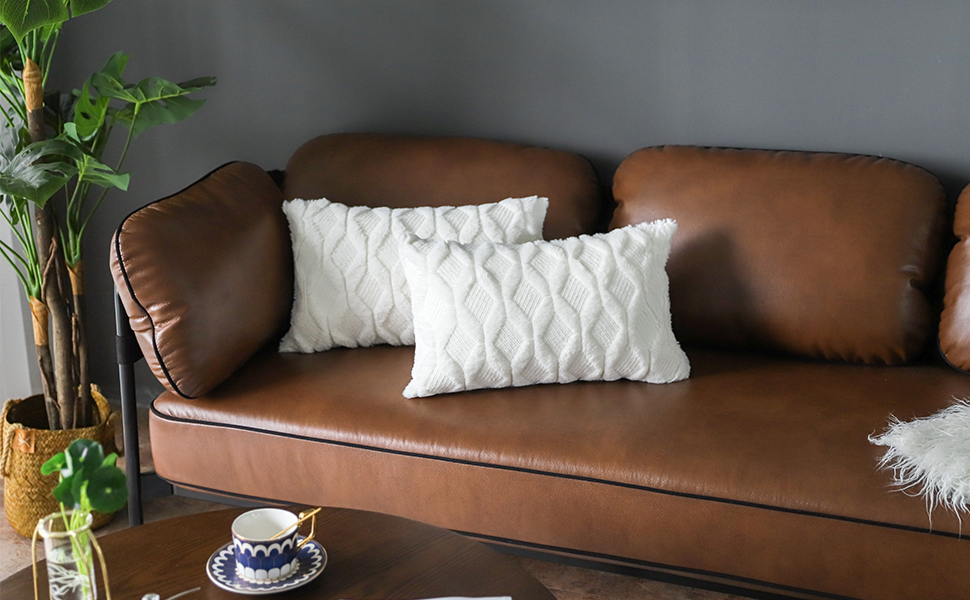 Throw pillow covers 12x20