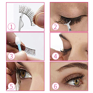 Lurrose false lashes 60 pairs 5
