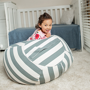 wekapo stuffed animal bean bag storage chairs
