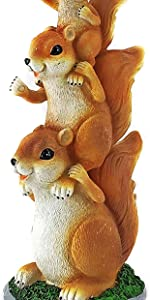 squirrel statues for garden squirrel garden statue cowboy squirrel taxidermy statue on base