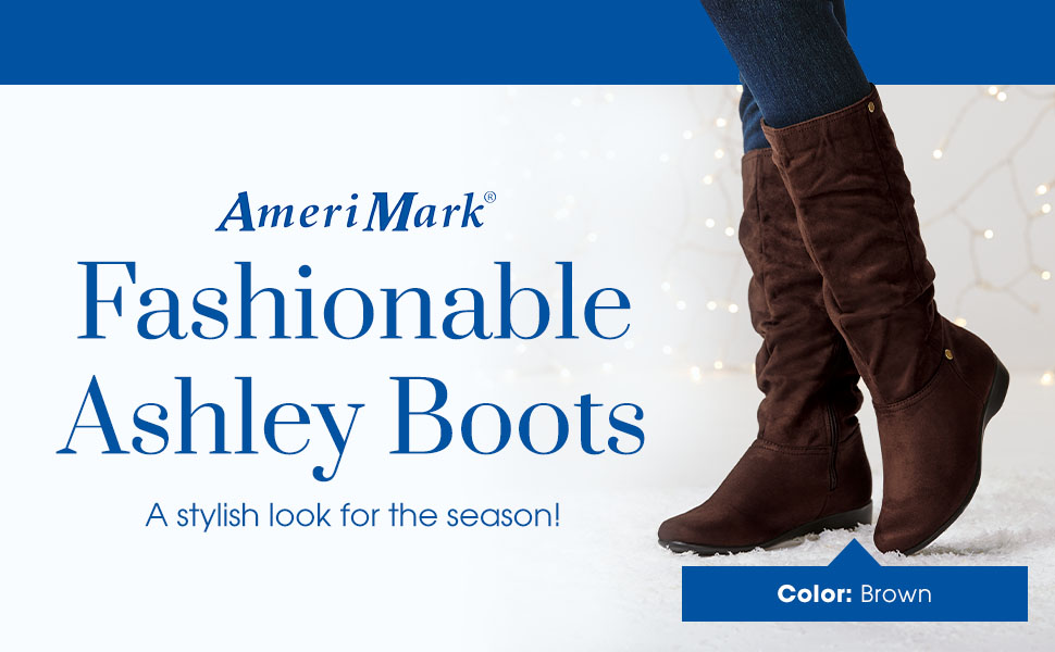 Fashionable Ashley Boots. A stylish look for the season!