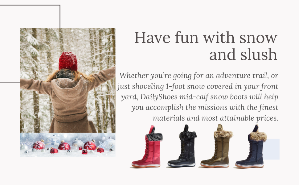 women's snow boots affordable under 40 50 30 fur waterproof