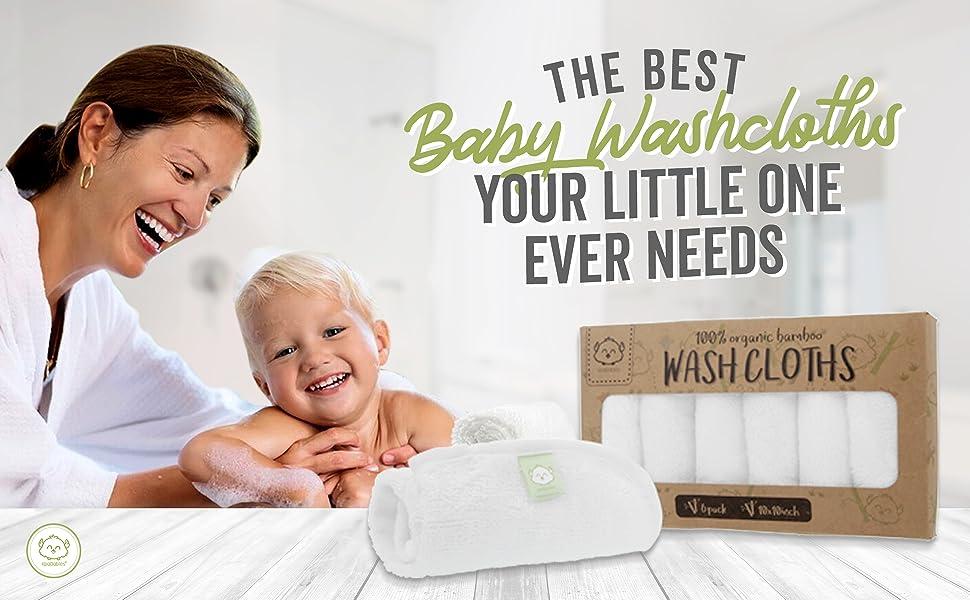 baby washcloth washcloths wash cloth cloths towel face facial towels bamboo organic soft shower