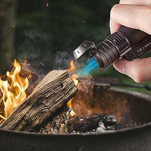windproof butane lighter