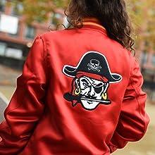 Satin Red Pirate